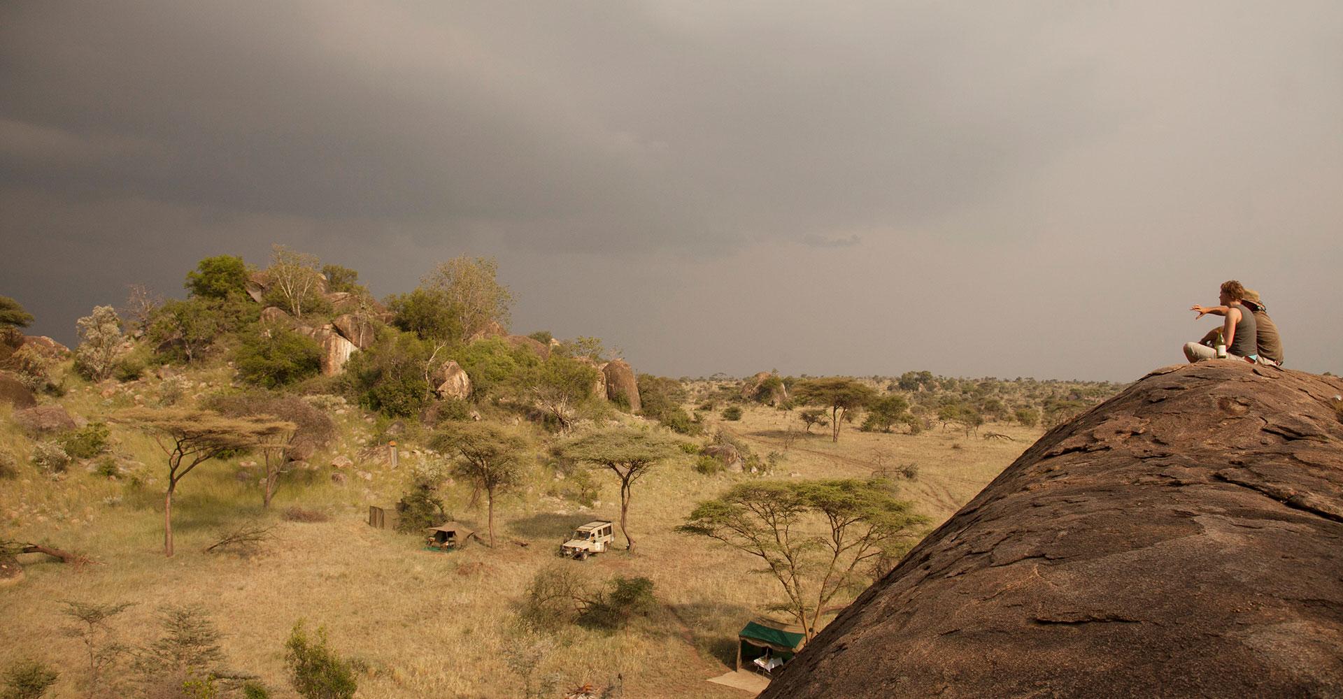 Serengeti View Of Camp